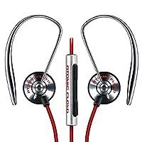 【正品】ATOMIC FLOYD 配备iPhone对应麦克风的遥控器・耳挂式耳机 ATOMIC FLOYD AirJax +RemoteSAF-EP-000011a 新包装