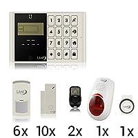 LKM Security M2C Lite 报警装置套装? 21 - 件套 ? GSM - 房屋防盗 - 警笛 - 白色