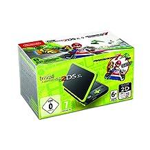 任天堂手持控制臺 - 新任天堂 2DS XL Nintendo 2DS XL + Mariokart 7 Black and Lime Green