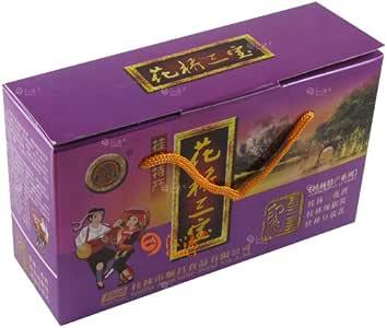沁漓 桂林特产 印象老三宝219花桥桂林三宝(紫) 礼盒组合