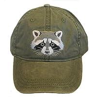 Eco Wear 浣熊刺绣棉帽 *