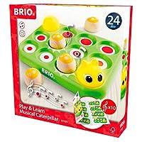 BRIO 30189 – 音乐游戏 毛虫 学习玩具