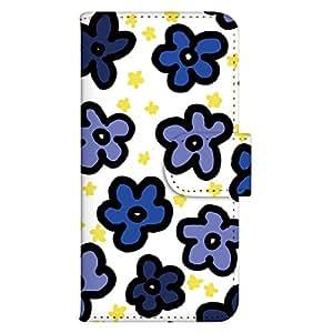 智能手机壳 手册式 对应全部机型 印刷手册 cw-008top 套 手册 花朵图案 UV印刷 壳wn-0138088-wy Xperia acro HD SO-03D 图案F