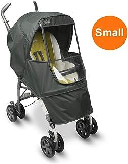 Manito 优雅阿尔法婴儿车 防雨罩/防雨罩(5种颜色可选) Grey - Small