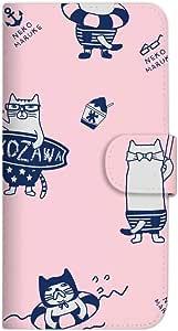 Mitas 手册式 带皮带 运动裤 猫咪 冰感SC-3995-KUJ38/SM-G928 3_Galaxy S6 edgePlus (SM-G928) ネコまるけ 冷感 PK