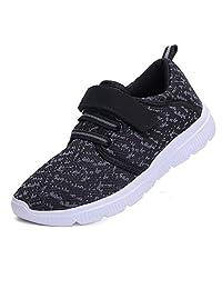 Wetrics 女孩男孩步行鞋儿童跑步运动鞋轻便软童靴学校运动