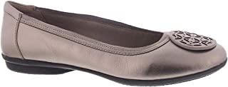 Clarks 女式 Gracelin Lola 芭蕾平底鞋