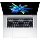 【2017款】Apple MacBook Pro 15英寸笔记本电脑(配备Multi-Touch Bar/Core i7/16G内存) (2.8GHz处理器/256GB固态硬盘 MPTU2CH/A, 银色)
