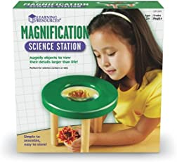 Learning Resources 儿童桌面放大镜 Magnification Science Station