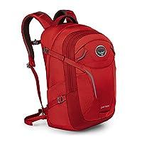 Osprey 中性 秒差 Parsec 31 红色 均码 双肩背包 户外旅行耐用徒步城市日用背包电脑包放15寸笔记本防泼水 三年质保终身维修(两种LOGO随机发)【城市系列】