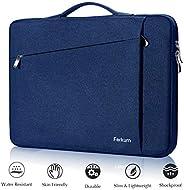 Ferkurn 13 13.3 13.5 英寸笔记本电脑内胆包便携手柄保护套兼容 MacBook Air 2019 2018 Mac A1932 A1466、MacBook pro 13、XPS、HP、Surface 笔