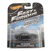 '08 道奇挑戰者 SRT8 Fast & Furious Fast 五輪 1:64 復古娛樂壓鑄
