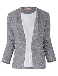 Kate Kasin 女士长袖办公室夹克开领外套 KK470