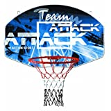 SURE SHOT TEAM 可动篮球戒指英寸和 BASKETBALL backboard 标志