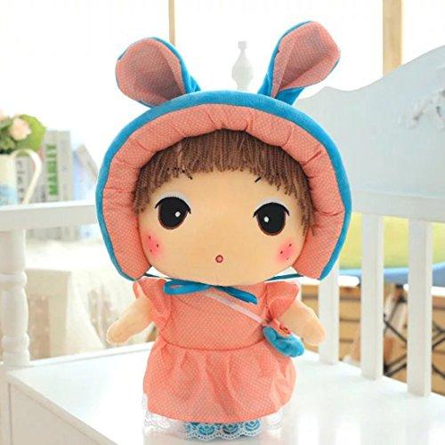爱萌兔玩具 可爱布娃娃公主 洋娃娃 小女孩安吉拉 毛绒玩具 乐儿玩偶