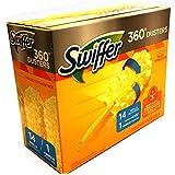 Swiffer Duster 360度带填充手柄,14片