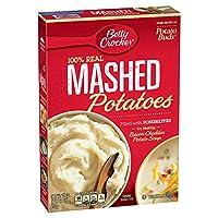 Betty Crocker Mashed Potatoes 28 Ounces (Pack of 6)