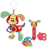 Playgro 0183171 婴儿小狗牙胶包