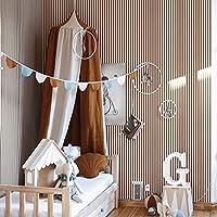 儿童公主床遮蓬,棉质圆顶公主床遮蓬,适用于婴儿床Nook城堡游戏帐篷幼儿园游戏室装饰