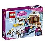LEGO 乐高 Disney迪士尼公主系列 安娜与克斯托夫的雪橇探险 41066 5-12岁 积木玩具