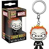 Funko Ghost Rider Pocket POP! x Marvel 宇宙迷你人物钥匙扣 + 1 张 Marvel 官方卡包