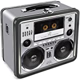 Aquarius Boombox Tin Lunch Box