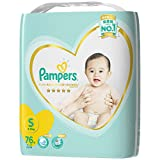Pampers 帮宝适 紫帮系列 纸尿裤 尿不湿大包 S76片(原产地 日本)
