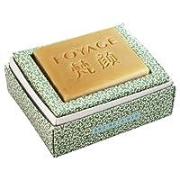 FOYAGE 梵颜 薰衣草手工皂 Lavender Soap 80g 天然冷制洁面皂(祛除痘印 细致毛孔 修护肌肤 无色素)