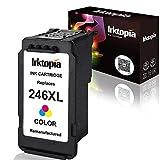 再生墨盒替换件适用于 CANON PG 245x l 码 & CL 246X L 码搭配 INK Level 指示灯使用 IN CANON PIXMA ip2820MG 2420mg25202920mg2922mg2924MX 492mx490打印机