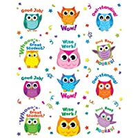 Colorful Owl Motivators Motivational Stickers
