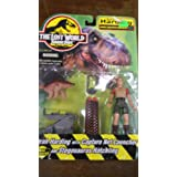 The Lost World Jurassic Park Sarah Harding with Capture Net Launcher and Stegosaurus Hatchling