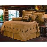 HiEnd Accents Luxury Star Bedding, Full