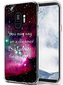 S9 手机壳 - 主题【柔软 Tpu 贴合设计】三星 Galaxy S9 保护套引语透明设计 S9_52