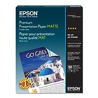 EPSON PREMIUM presentation PAPER 哑光 (21.59cmx27.94cm ,双面,50页) (s041568)