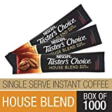 Nescafe Coffee, Taster's Choice, House Blend Stick Packs, 1.5g Packages (Pack of 1000)