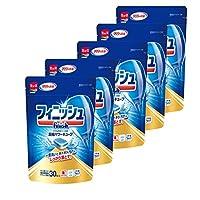 finish 洗碗机洗涤剂 袋装 清洁力强 30个×5(150次的量)