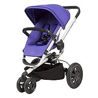 美版Quinny 奎尼BUZZ Xtra 2.0儿童推车(美国进口,香港直邮)-紫色(车重约27磅,适用体重5-50磅,约0-5岁,双向推行,最大角度170度,可坐可躺,液压自动展开系统,BUZZ避震系统,可链接Maxi cosi提篮。美亚最新版)(包邮包税)