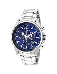 INVITAL 手表 Specialty Men 48mm 不锈钢蓝表盘5030.D石英 1834 男士 正规进口商品 银色