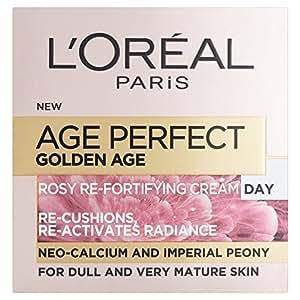 L'oréal 巴黎欧莱雅 巴黎 完美 金色 老年人 rosy 修复日霜(50毫升)