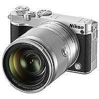 Nikon 尼康 1 J5+VR 10-100mm f/4-5.6 可换镜数码套机(银色)