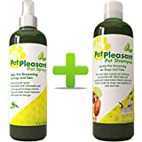Honeydew Natural Pet Supplies *套装 猫 + 狗 - 宠物护理洗发水 干脆发痒皮肤 - 宠物喷雾香茅 + 柠檬草 - 防潮 + 驱虫剂 - *异味去除剂