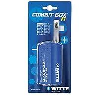 Witte Combit Box 17 - 帶 17 個鉆頭的螺絲盒,機械藍