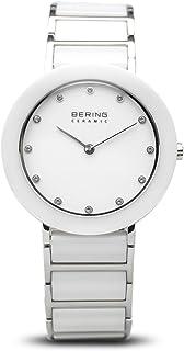 Bering 丹麦品牌 陶瓷系列 女士手表 时尚潮流石英表 镶钻防水手表时装表