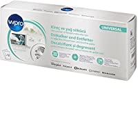 Wpro DES124 - 3合1 - 专业的除垢剂,用于洗衣机和洗碗机的除垢、清洁和护理