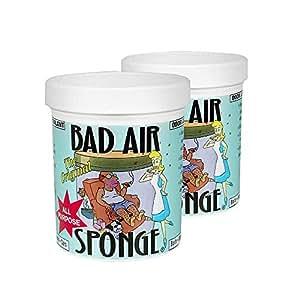 BAD AIR SPONGE 吸收异味空气净化剂 400g/罐*2(美国进口,包邮包税)