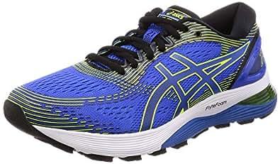 ASICS 亚瑟士 Gel-Nimbus 21 男士跑鞋 Blau (Illusion Blue/Black 400) 48 EU