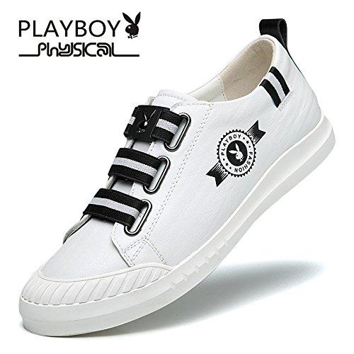 PLAYBOY 花花公子 鞋子冬季休闲鞋百搭潮流运动鞋青年板鞋子男士韩版低帮鞋