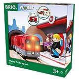 瑞典 BRIO 火车系列 声光地铁车站套装 BROC33513