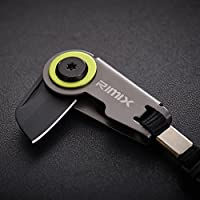 【买一送一,实发2个】RIMIX 迷你鹦鹉折叠刀 EDC随身多功能户外工具 钥匙扣配饰