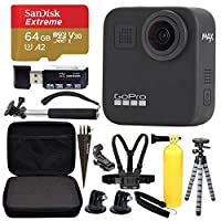 GoPro MAX 360 运动动作相机 + SanDisk Extreme 64GB microSDXC + *超值套装!